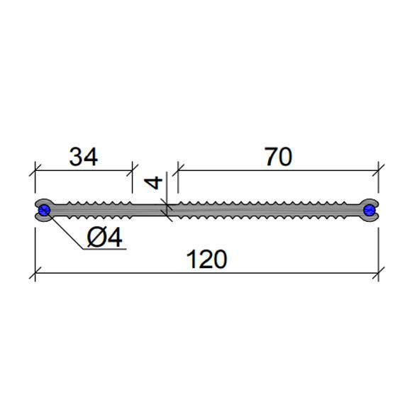 Гидрошпонка-ХВН-120-2хØ4-(ПВХ)