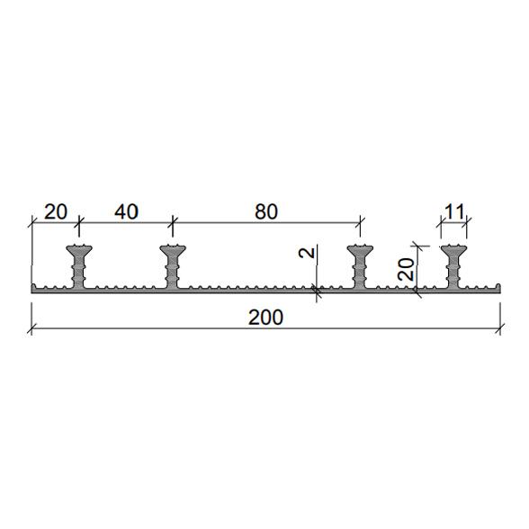 Гидрошпонка-ХО-200-420-(ПВХ)