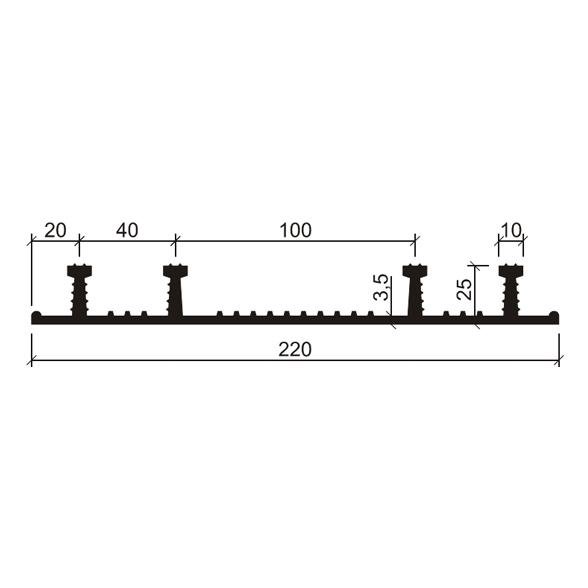 ХО-220-425-(EPDM-Резина)